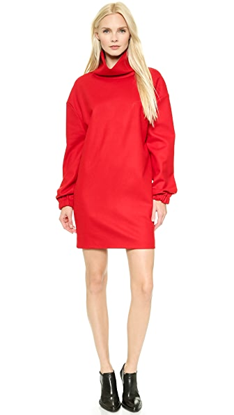 Costume National Costume National Long Sleeve Dress (Red)