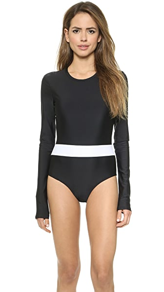 Long Sleeve Swimsuit (Multicolor)