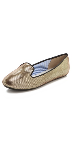 Charles Philip Eula Metallic Flats