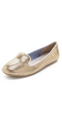 Charles Philip Lizzette Metallic Flats at Shopbop / East Dane