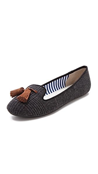 Charles Philip Lana Wool Loafers