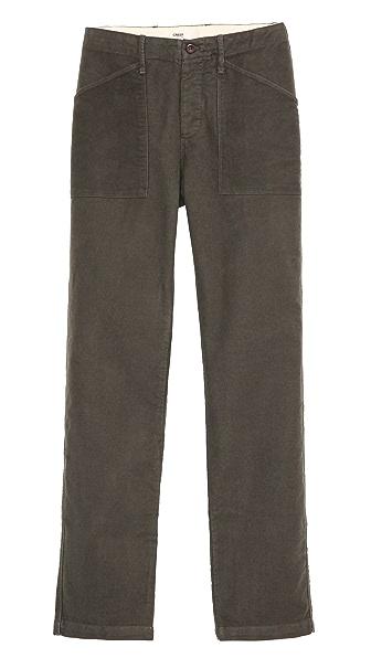 Creep Moleskin Fatigue Pants