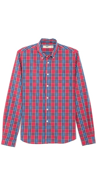 Creep Check Button Down Shirt