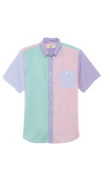 Creep Short Sleeve Button Down Shirt