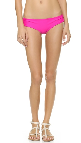 Citrine Swim Kalahari Bikini Bottoms - Shocking Pink at Shopbop / East Dane
