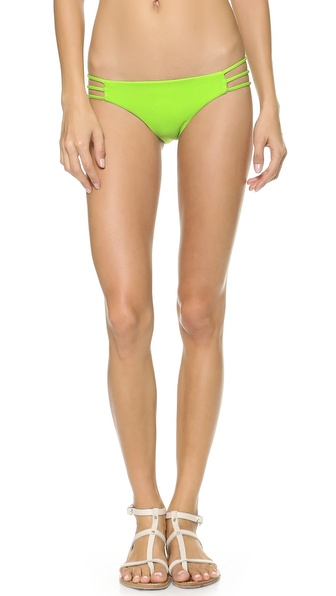 Citrine Swim Tupelo Bikini Bottoms - Lime at Shopbop / East Dane