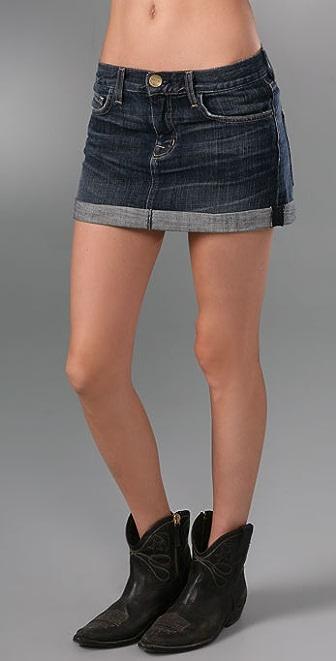 Current/Elliott The Rolled Skirt