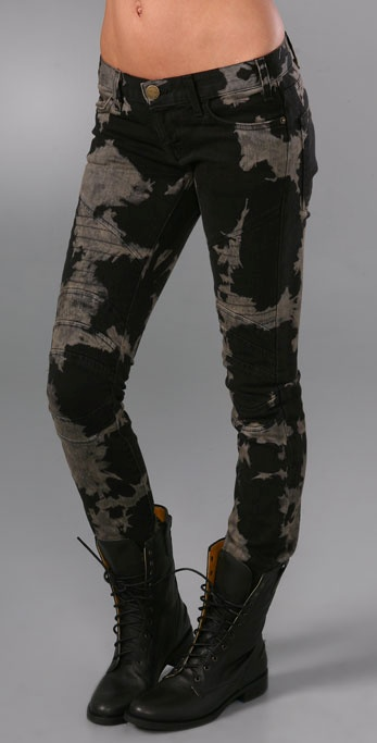 Current/Elliott The Moto Skinny Jeans