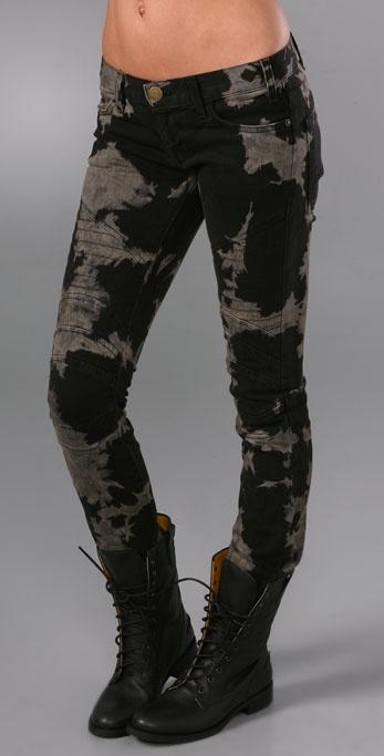 Current/Elliott The Moto Skinny Jeans