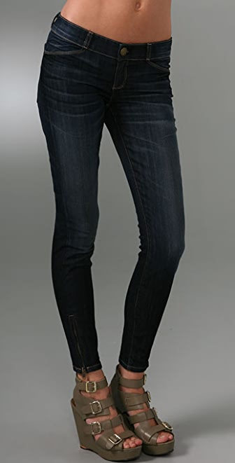 Current/Elliott The Cropped Legging Jeans