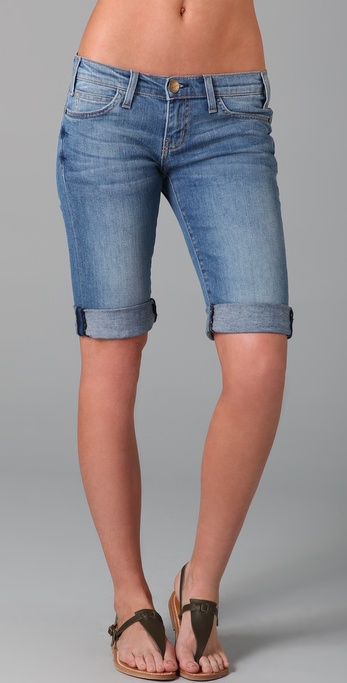 Current/Elliott The Skate Rat Denim Shorts