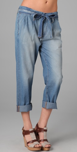 Current/Elliott The Paper Bag Boyfriend Jeans