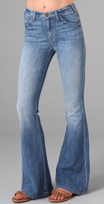 Current/Elliott The High Waist Bell Jeans