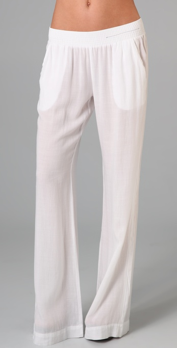 Current/Elliott The Wide Leg Lounge Trousers