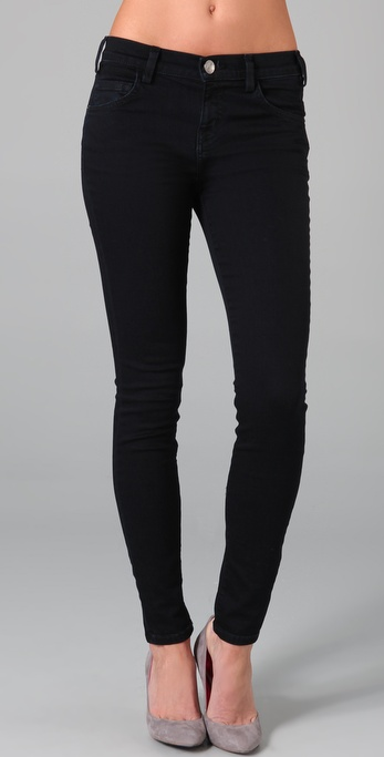 Current/Elliott The High Waist Skinny Jeans