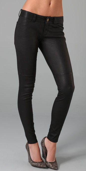 Current/Elliott The Leather Leggings