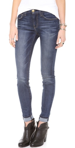 Current/Elliott The High Waist Skinny Jeans at Shopbop / East Dane