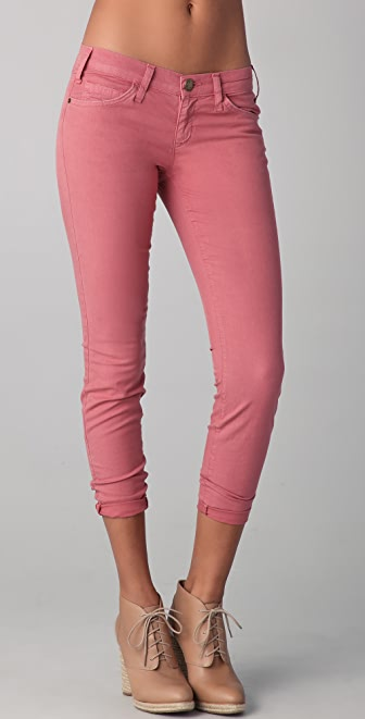 Current/Elliott The Low Rise Stiletto Jeans