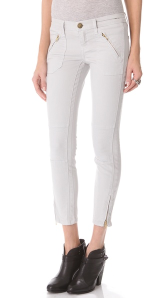 Current/Elliott The Moto Stiletto Jeans