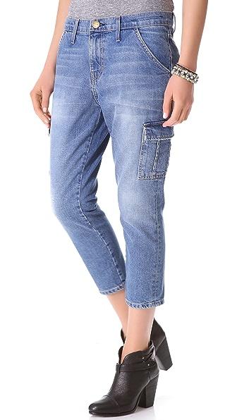 Current/Elliott The Skinny Boy Cargo Jeans