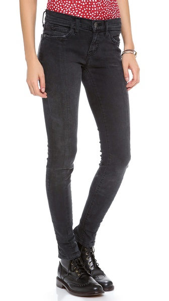 Current/Elliott Steamstress Jeans with Zip