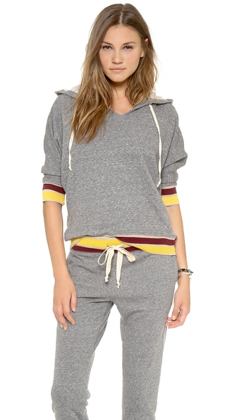 Current/Elliott The Cropped Sleeve Sweatshirt