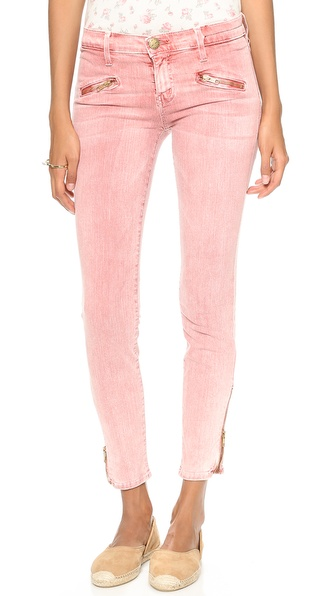 Current/Elliott The Soho Zip Stiletto Jeans