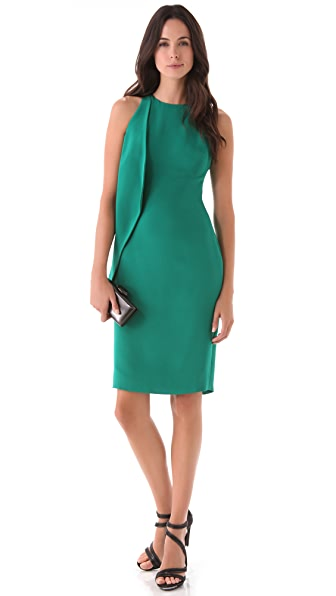Cushnie et Ochs Ruffle Sheath Dress
