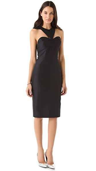 Cushnie et Ochs Collarbone Dress