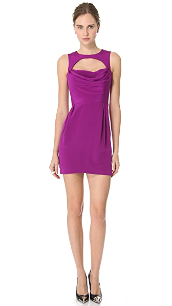Cushnie et Ochs Silk Crepe Sleeveless Dress