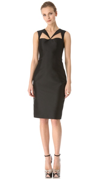 Cushnie et Ochs Sleeveless Cutout Dress