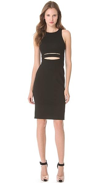 Cushnie et Ochs Sleeveless Dress with Cutout