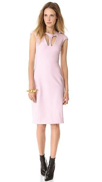 Cushnie et Ochs Cutout Jersey Dress
