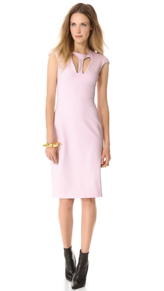 Cushnie et Ochs Cutout Jersey Dress