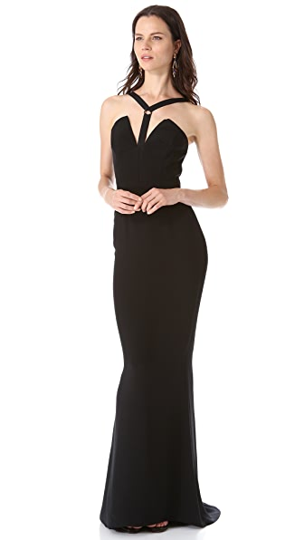 Cushnie et Ochs Sleeveless Gown
