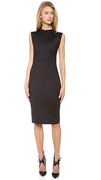 Cushnie et Ochs Stretch Cotton Sleeveless Dress