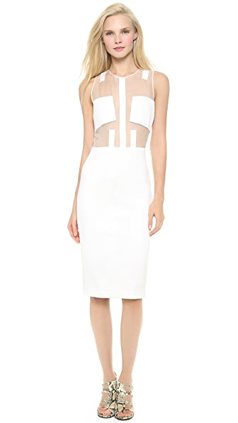 Cushnie et Ochs Sleeveless Cocktail Dress