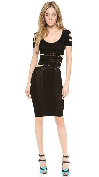 Cushnie et Ochs Cutout Dress