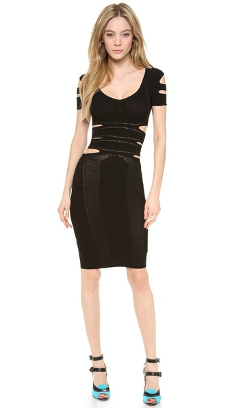 Cushnie et Ochs Cutout Dress