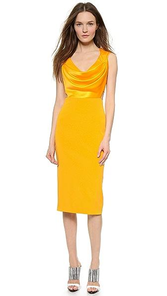 Kupi Cushnie et Ochs haljinu online i raspordaja za kupiti Cushnie Et Ochs Sleeveless Dress Marigold online