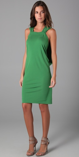 Cut25 by Yigal Azrouel V Back Sleeveless Dress