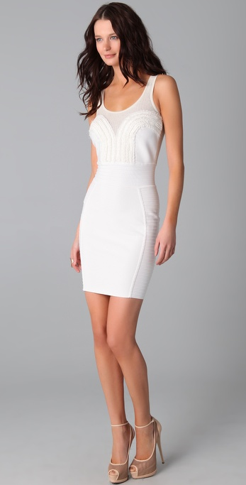 Cut25 by Yigal Azrouel Sleeveless Seam Detail Dress