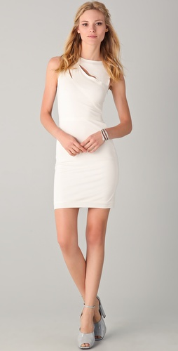 Cut25 by Yigal Azrouel Short Dress with Cutouts