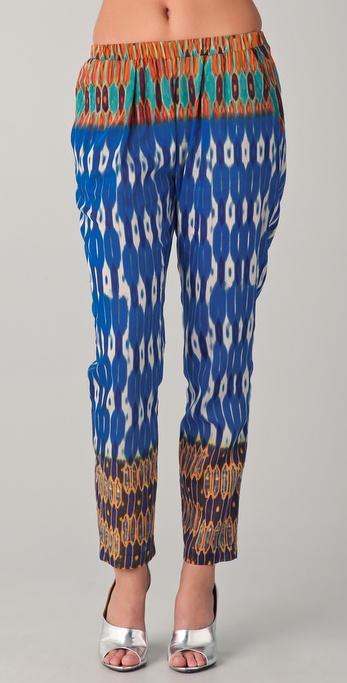 Cut25 by Yigal Azrouel Honeycomb Print Pants