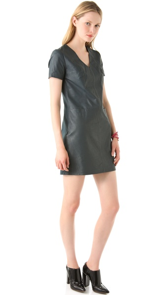 Cut25 by Yigal Azrouel Leather Dress