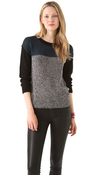 Cut25 by Yigal Azrouel Marled Knit Sweater