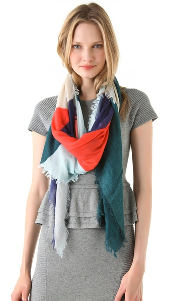 Cut25 by Yigal Azrouel Color Tunnel Scarf
