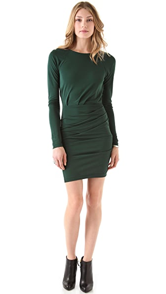 Cut25 by Yigal Azrouel Matte Jersey Ruched Dress