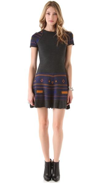 Cut25 by Yigal Azrouel Power Knit Dress