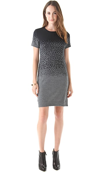 Cut25 by Yigal Azrouel Degrade Knit Dress